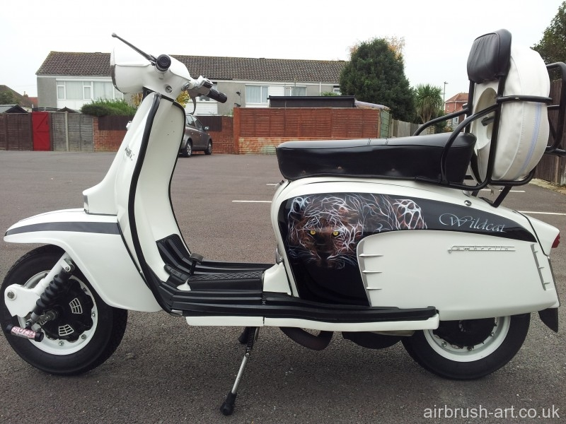 The complete wildcat Lambretta.