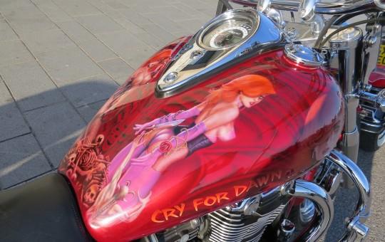 Cry for Dawn on Triumph Thunderbird