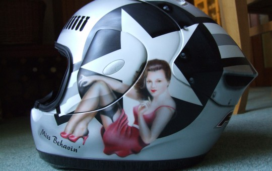 Miss Behavin' Helmet