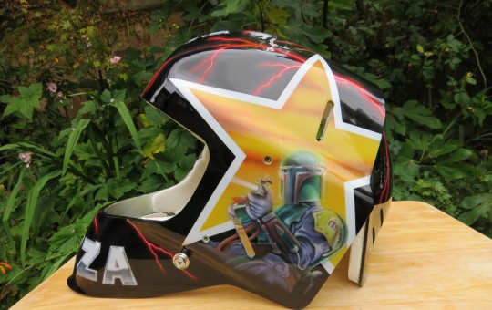 Custom Paint Hockey Helmet Mask