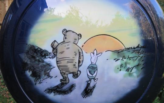 Pooh Bear Custom Cover