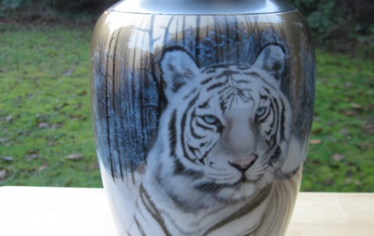 Airbrushed Cremation Urn