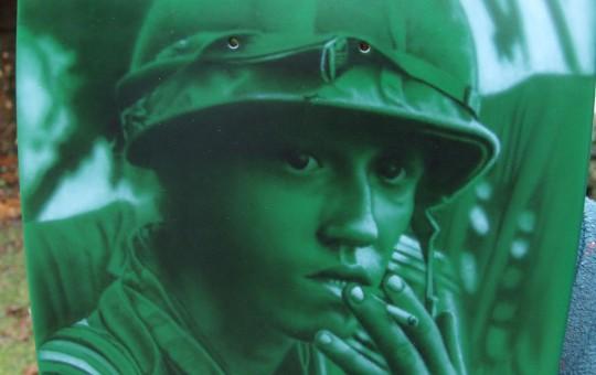 Vietnam War Goldwing Paint Job