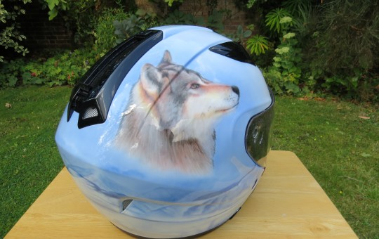 Eagle and Wolf Helmet